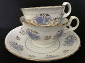 Regency tea & coffee cups & saucer trio